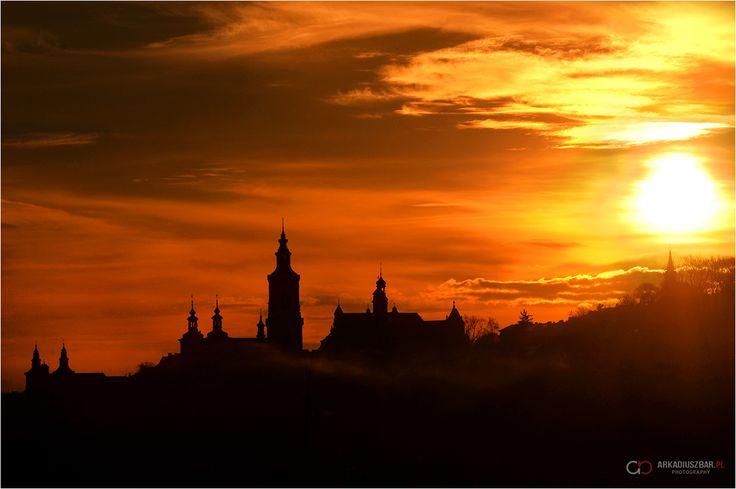 Sunset in Przemyśl