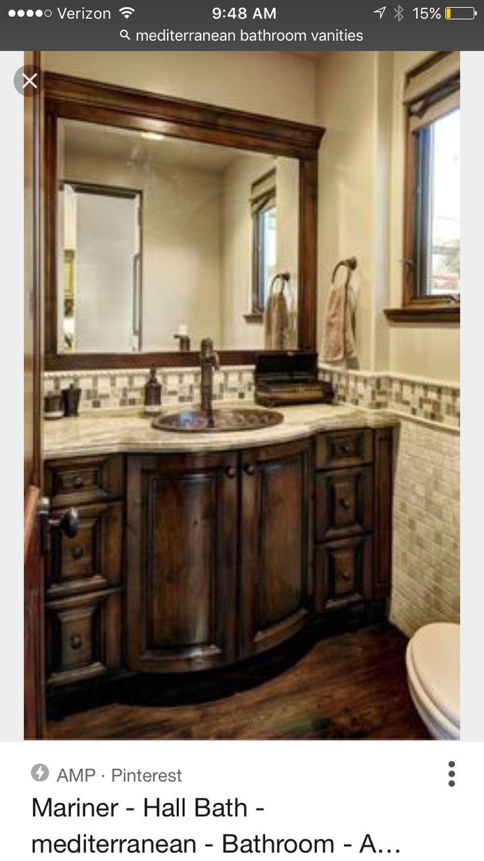 Mediterranean Bathroom Sinks Ideas Only