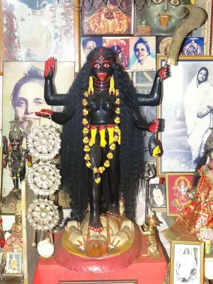 Shaktipeetha — Great pic of a very beautiful image of Maa Kali...