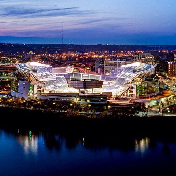 Paul Brown Stadium in #Cincinnati