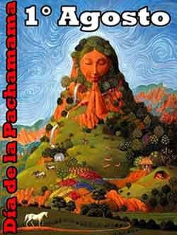 1° de agosto Día de la Pachamama - Mi Sala Amarilla