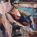 Amy Dryer...Calgary artist.  I really like her looseness