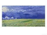 Wheatfields Under Thunderclouds  Vincent van Gogh