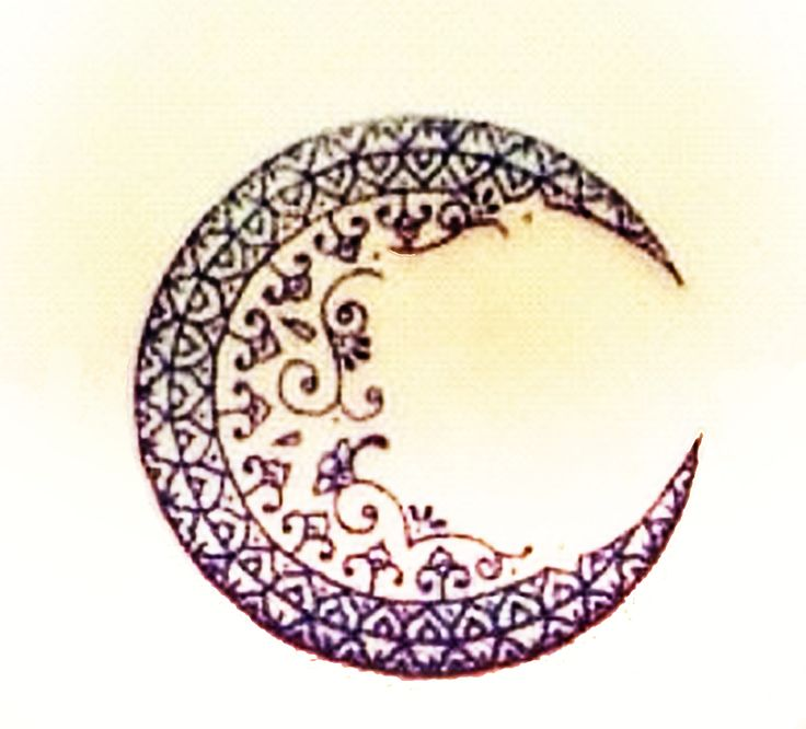 moon tattoo idea