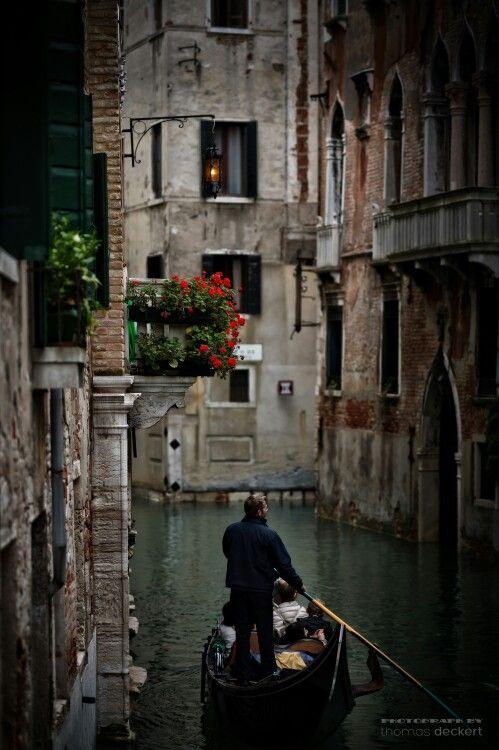 T. Decker - Venice gondolier