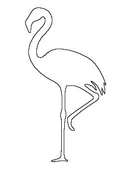 Flamingo Pattern BIRD COLORING Pinterest