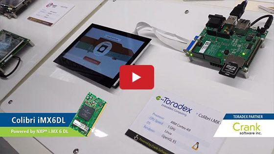 Toradex Partner, Crank Software Inc , highlights its Storyboard