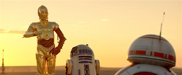 C-3PO and R2-D2 meet BB-8 in This New Star Wars: The Force Awakens Ad Plus, more fabulous theories!!If this is indeed actual movie footage, it means that J.J. Abrams is bringing back the dorky '70s screen wipes that George Lucas was oh-so obsessed with. Did you see it? Boom! Twelve seconds in: a horizontal screen wipe. If it's not real, this supports an intriguing fan theory from Esquire's Facebook page that said none of the footage from the trailers has been actual movie footage in order to…