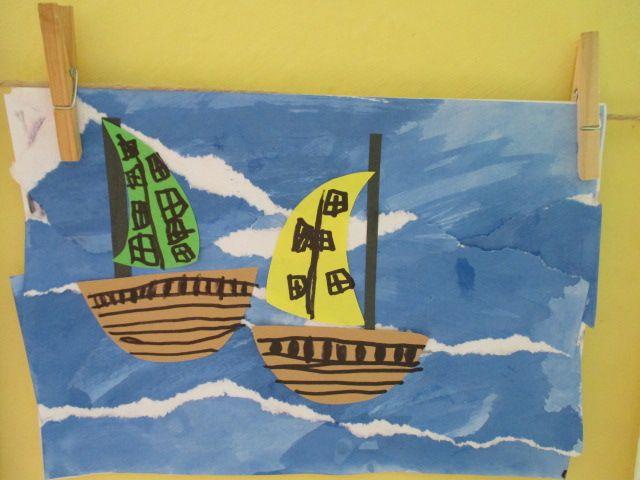 lodě - moře