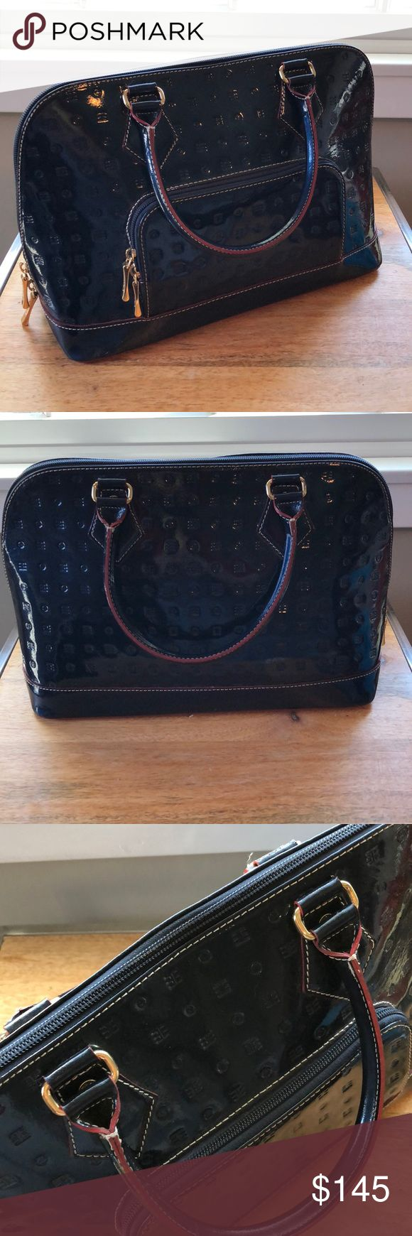 ARCADIA PURSE! Great quality, and great condition. Comes with a shoulder strap. Navy blue, with red and gold detailing arcadia Bags Shoulder Bags