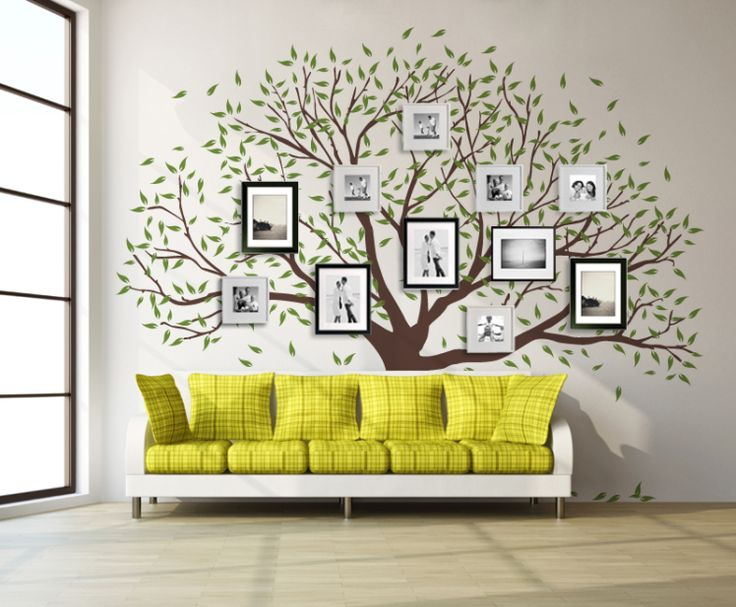 The Family Tree Wall Decals   Giclee Art Prints, Printed Mugs And T Shirts, Wall  Decals And Mini Decals For Sale! SHOP NOW!