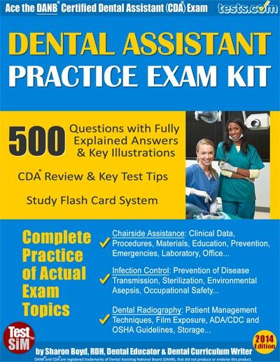 7 best images about Certified Dental Assistant (CDA) Examination ...