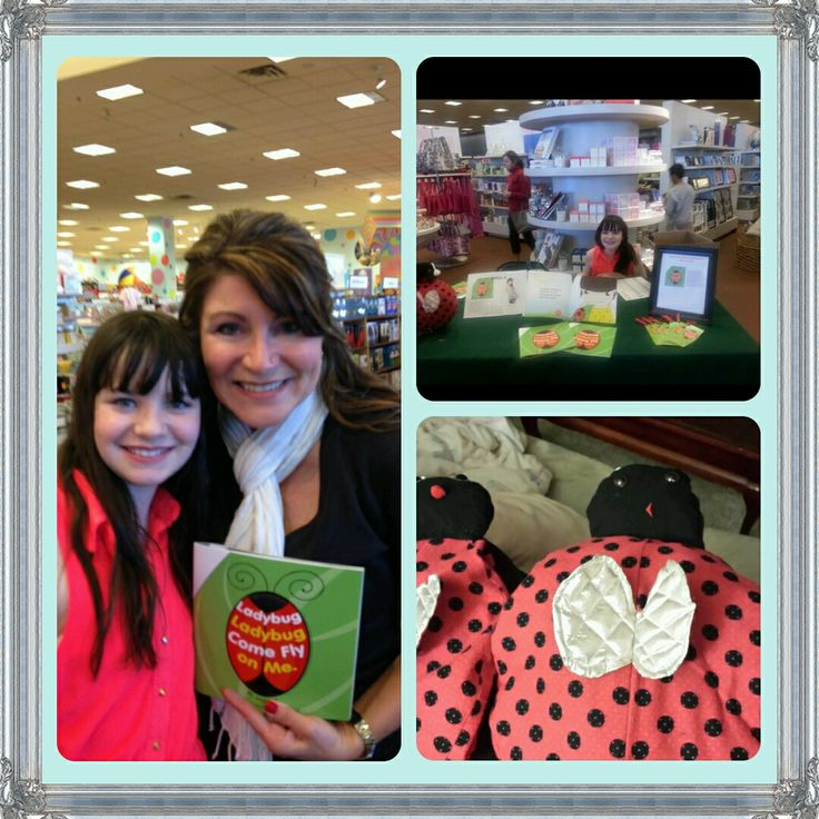 Had a great time at my book signing yesterday! Thank you to Shawnessy Chapters for being such lovely hosts.  #ladybugbook #author #sundayfunday