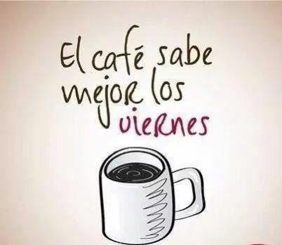 El café sabe mejor los viernes ¡A exprimir el último día de la semana! :D #estudiantes #umayor #motivados
