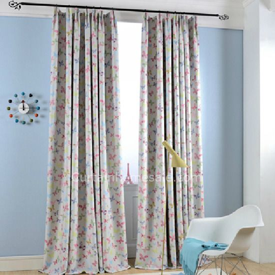 Owl Kids Curtains For Children Blue Thick Printed Blackout Curtains Bedroom  Window Curtains Living Room Kids Curtains