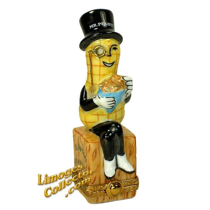 MR. PEANUT OF PLANTERS PEANUTS LIMOGES BOX (RARE)