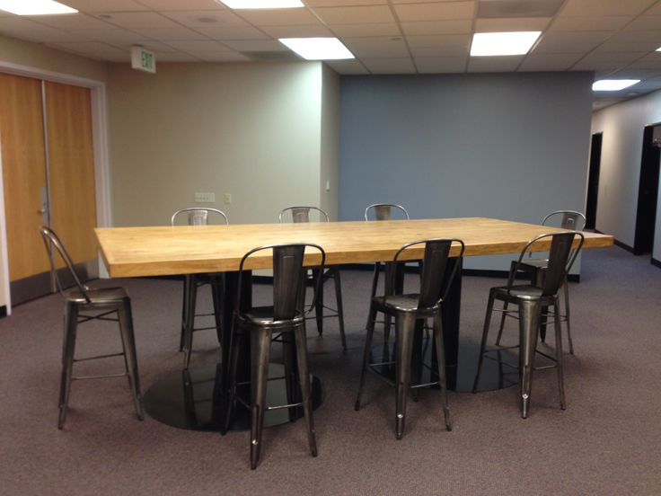Custom Conference Table Bar Height Feruxe Custom