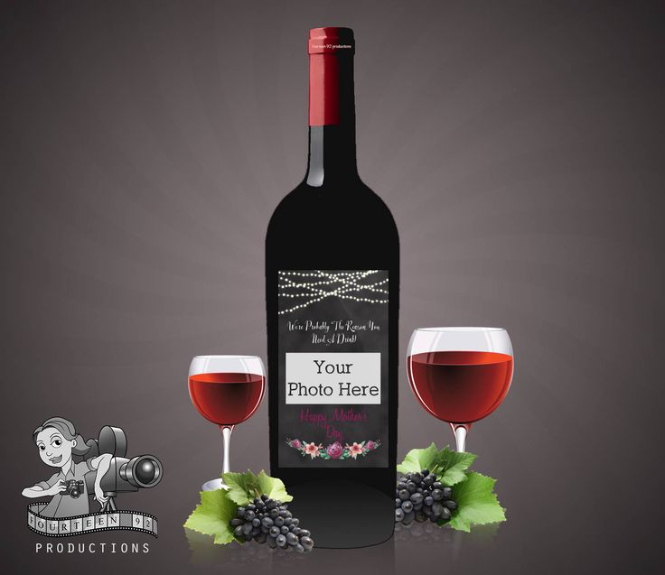 Mother's Day Wine Label We're Probably The Reason You Need A Drink by fourteen92prod on Etsy https://www.etsy.com/au/listing/503133304/mothers-day-wine-label-were-probably-the