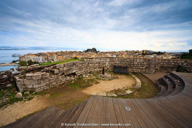 History In Corfu - The New Fortress