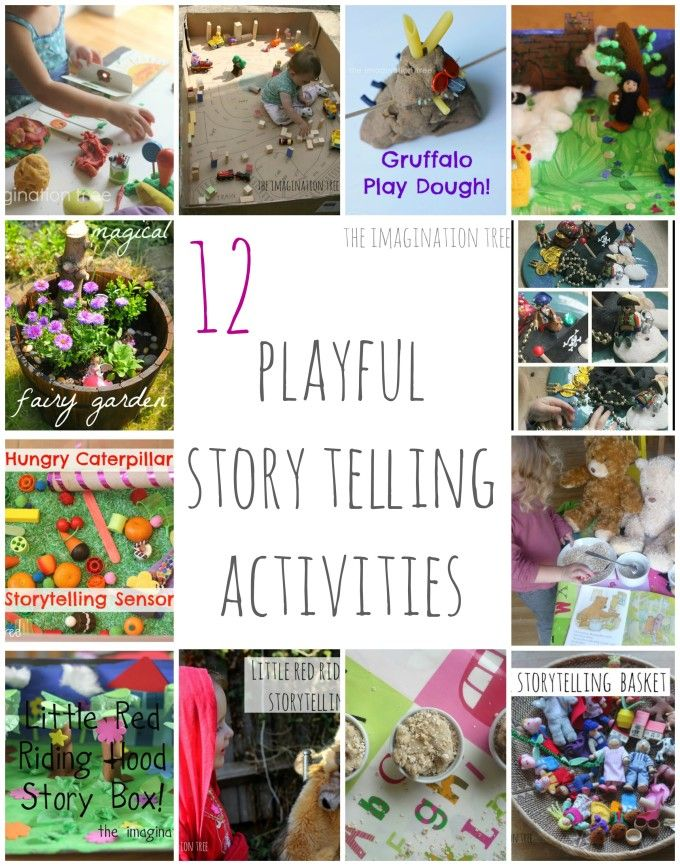 12 Playful #Storytelling Activities for Kids