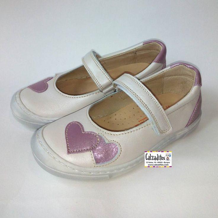 Zapatos rosas formales infantiles vK9GP