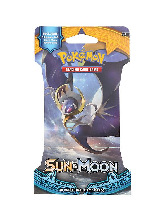 Pokemon Trading Card Game: Sun & Moon Booster Pack,