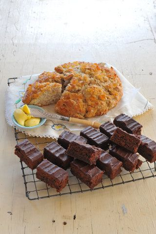 Feijoa and ginger scones Recipe | Allyson Gofton
