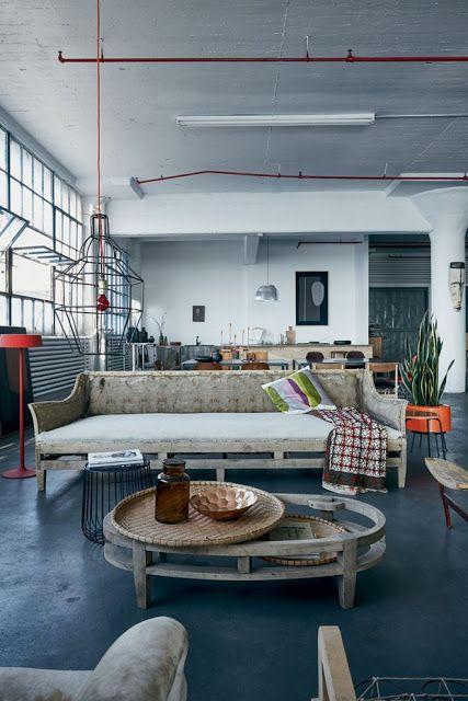 ATELIER RUE VERTE , le blog: New-York / Un loft impressionnant de 800 m² /