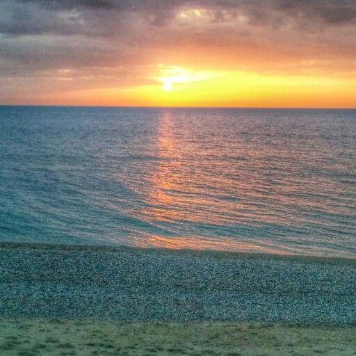 #mare #sicilia #capodorlando #spettacolo #natura #tramonto