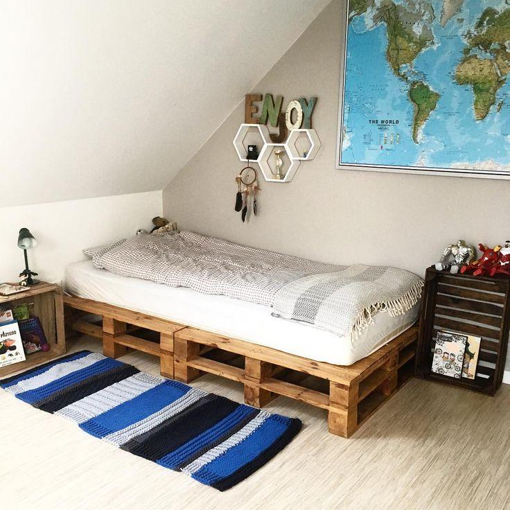 excellent si te encantan las camas con palets crea la tuya de esta forma tan fcil with camas con palets - Camas Con Palets