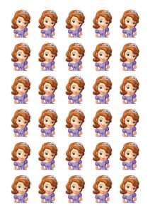 free printable sofia the first