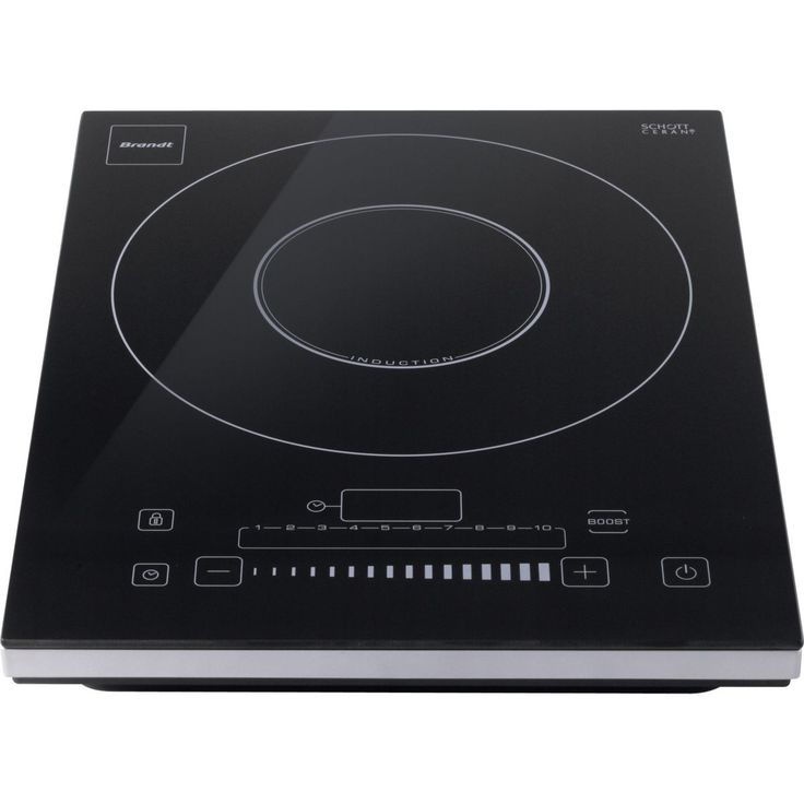 Plaque de cuisson induction brandt ti 2001s for Plaque induction 1 foyer