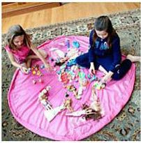 Portable Waterproof Kids Play Mat Large Storage Bags for Toys