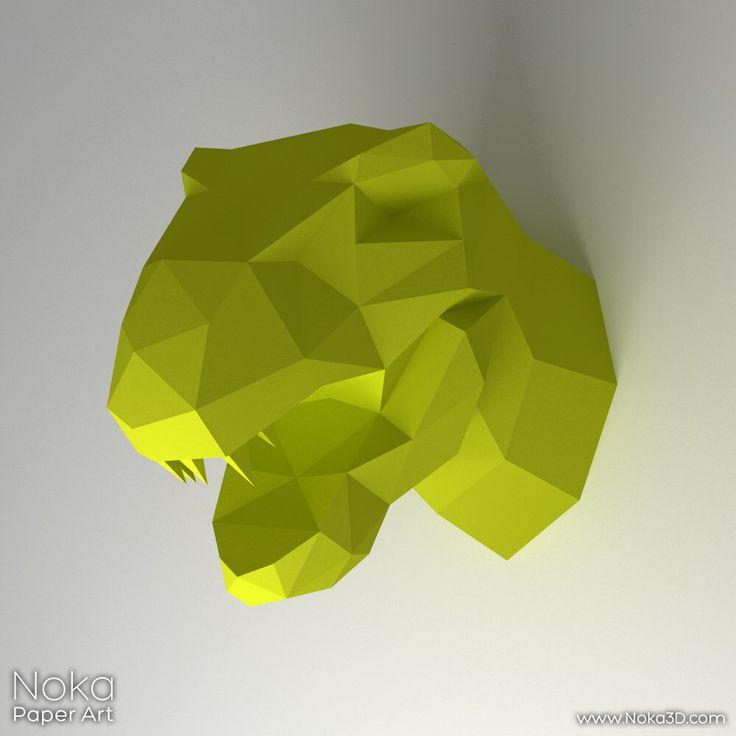 dinosaur head 3d papercraft model downloadable diy template papercraft dinosaurs and templates