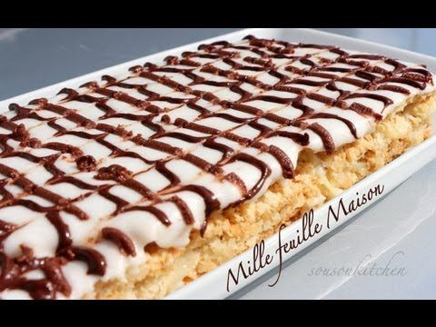 Homemade Mille feuille 2/ Mille Feuille 100% Maison 2-Sousoukitchen