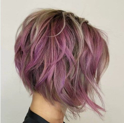 Tousled Lavendel Federn