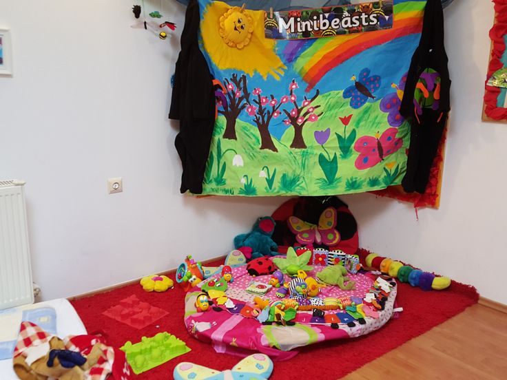 Minibeasts area for  Early Years@ Acorns Nursery Bucharest