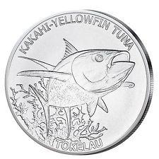 Tuna - Thunfisch - auf 1-Unzen-Silbermünze. Ideal für Ihre Geldanlage in Silber und für Münzsammler