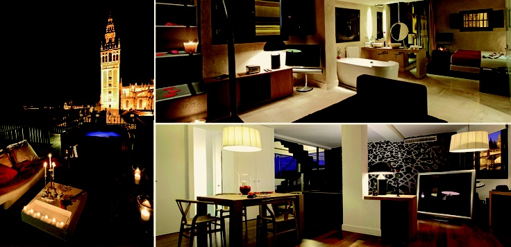 Junior Suite Cathedral Views & Terrace at EME Catedral Hotel