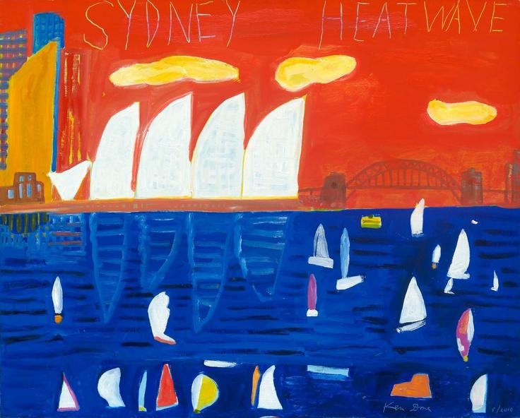 Ken Done - art / current exhibition / gallery / sydney-heatwave--2010