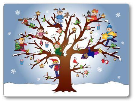 Vous pourrez télécharger ici le jeu de topologie sur l'hiver. Il s'agit de replacer des personnages sur un arbre. jeu topologie hiver