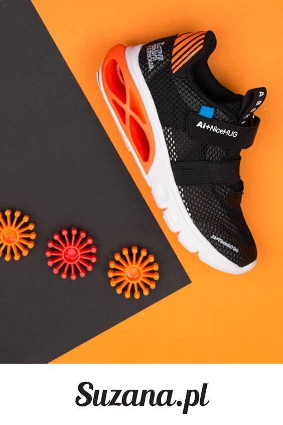 Czarne Sportowe Buty Dzieciece Suzana Pl 100 Sneakers Nike Nike Free Shoes