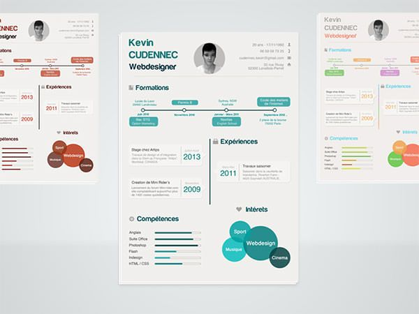 13 best CV Resume images on Pinterest - attractive resume templates