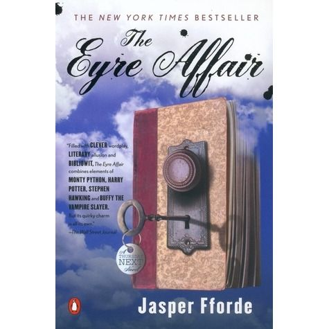 If you are new to Jasper Fforde & Thursday Next, read the info at http://www.jasperfforde.com/reader/readerjon2.html    The Eyre Affair (Thursday Next #1) Book Club September 2013