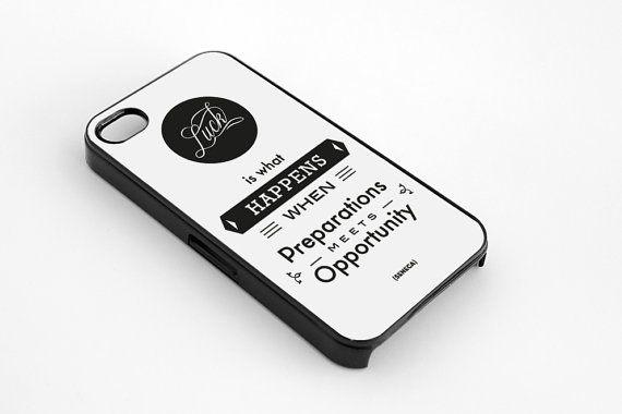 Seneca quote literary art iPhone 5  5s case iphone by MessProject, €13.00  #blackandwhite #wallartdecor #blackandwhite #artprint #inspirationalprint #quote #literary #etsy