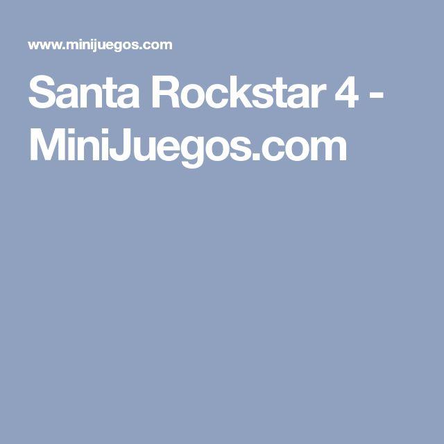 Santa Rockstar 4 - MiniJuegos.com