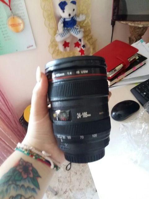 Negozio Online Nuovo Caniam Camera Lens REFLEX Cup 24-105mm Scala 1:1 di Plastica tazza di Caffè Tazza di tè TAZZA 400 ML Creativo Tazze E Tazze Con Coperchio M102 MUG-09 | Aliexpress mobile