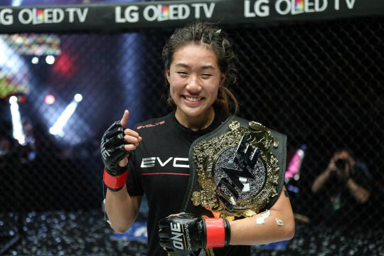 Female MMA World Champion Angela Lee Is Smashing Through Sports Glass Ceiling