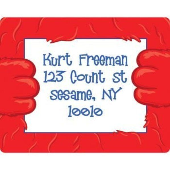 Check out Fuzzy Friends 1st Birthday Personalized Address Labels (sheet of 15) - Discount Birthday Party Supplies from Wholesale Party Supplies