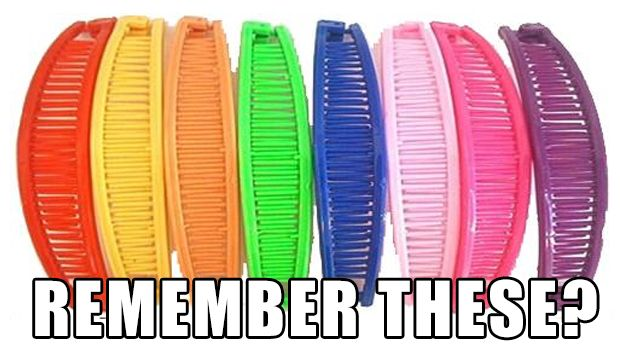 Remember having these for your hair girls?